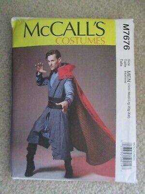 McCalls M7676 Dr Doctor Strange Wizard Costume Pattern - Men Sz S-XXL