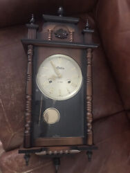 Linden 31 Day chiming wall clock in working condition