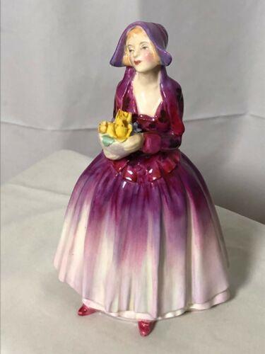 """ROYAL DOULTON Dorcas Lady Figurine 7 1/4""""h  HN1558"""