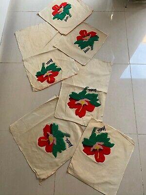 Kansai Yamamoto Vintage 1970s Tapestry/Carpetwork Fabric Pieces Possibly Rare