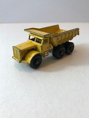 Lesney Matchbox Euclid Dump Truck  No. 6 Made In England Diecast 60s