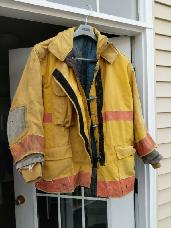 Vintage Remington VA Volunteer Firefighter Jacket RESCUE FIRE EMS Size 52 x 32R