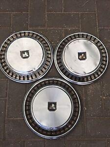 Set of. 3 x Holden hubcaps HJ HX HZ Henley Beach Charles Sturt Area Preview