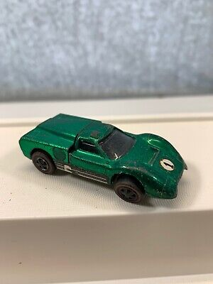 Hot Wheels Vintage 1968 Redline Ford J Car US Emerald Green early version