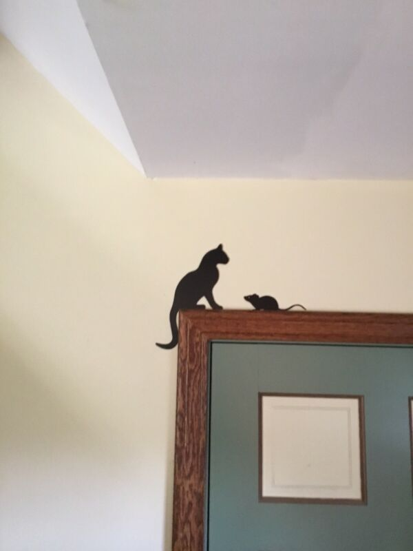 Cat and Mouse Door Toppers