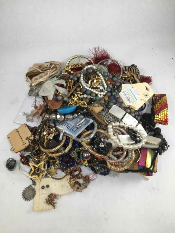 Assorted Lot of Costume Fashion Jewelry 6lb11.4oz