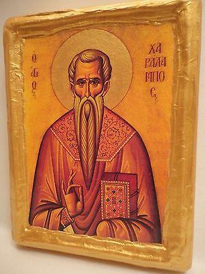 Saint Charalampos Charalambos Haralampos Agios Haralambos Greek Orthodox Icon