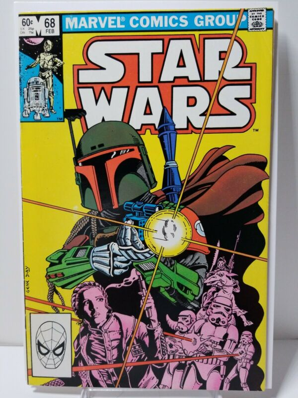 Star Wars 68, Origin Of Boba Fett 1st Mandalorians, Hot Copper Key Issue