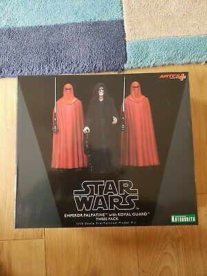 New sealed artfx Kotobukiya Star Wars 1/10 Emperor Palpatine & The Royal Guards
