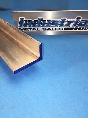 1-12 X 2-12 X 12-long X 14 Thick 6061aluminum Angle 1.5 X 2.5 X .250