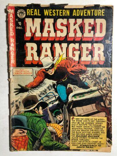 MASKED RANGER #5 (1954) Premier Comics western GOOD