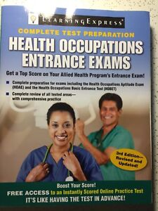 Health Occupation Entrance Exams Complete Test Prep. 3rd Edition