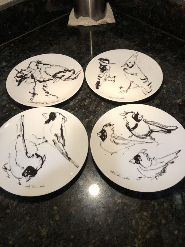 Billy Sullivan 1, 2 Cardinals Plate, 1,Jay, 1,Woodpecker &BlueJay, 1, 3 Cardinal