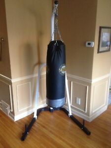 Punching bag and stand TKO