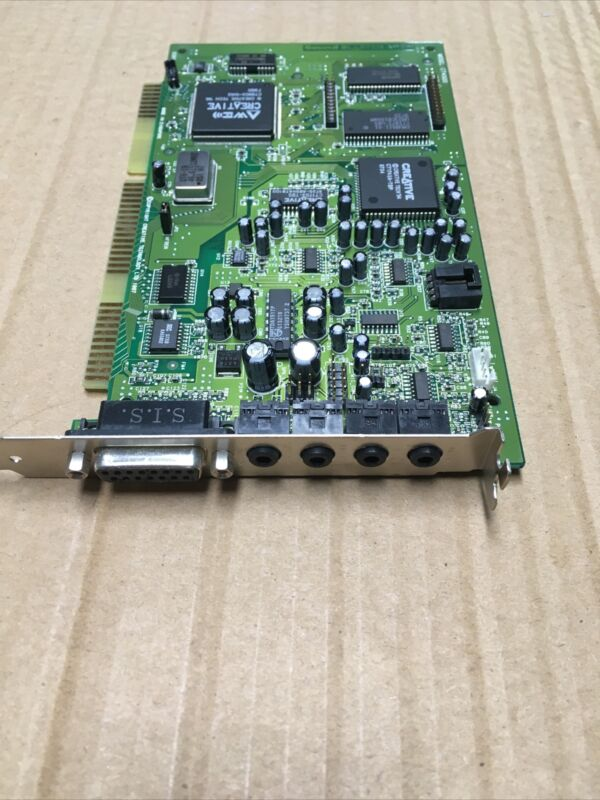 Vintage Sound Blaster AWE64 CT4500 ISA Card @MB216