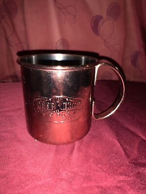 DEEP EDDY vodka Red Moscow Mule Tin Cup!