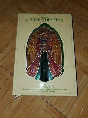 Vintage 1979 Hallmark Christmas Angel Tree Topper in Original Box NEW