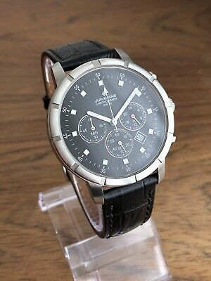 Junghans Chronograph 41/3219 40mm All Steel Flieger Style