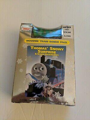 Vtg Thomas & Friends DVD Snowy Surprise Adventures Train Car & Video Tape Sealed