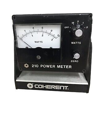 Coherent 210 Laser Power Meter Without Sensor