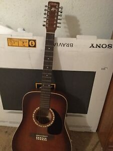 12 string art & lutherie with hard case