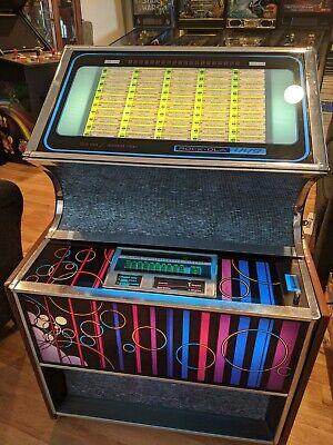 Rock Ola 449 Jukebox Works Perfectly