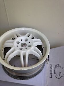 Set of 4x MOMO racing 17x8 rims/wheels Willoughby East Willoughby Area Preview
