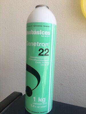 R22 REFRIGERANT 35 OZ , 35 oz  , 35oz  GENETRON  CAN AND FREE CONECTOR