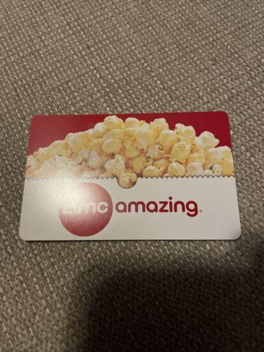 One 25 AMC Movie Entertainment Gift Card. - $18.26