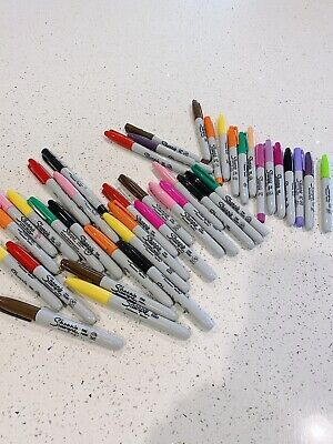 Sharpie Marker Lot - 42 Markers - Excellent Condition