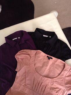 3 Cue tops / shirts sz 12  bundle  Wishart Brisbane South East Preview