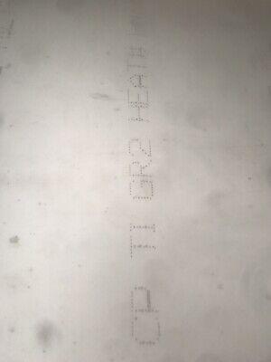 .040 X 12 X 43 Grade2 Cp Titanium Sheet Mil-t-9046
