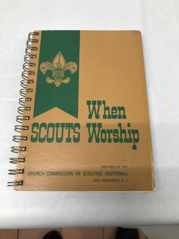 Vintage 1968/1969 Boy Scouts Of America BSA When Scouts Worship Book
