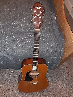 left handed full size acoustic guitar
