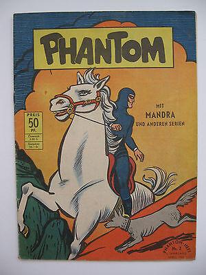 Phantom Nr.2, April 1955, Aller-Verlag, Endnummer, Zustand 2-