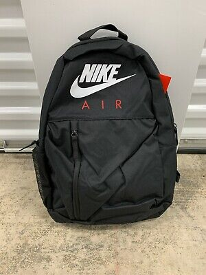 Nike Elemental 22L Backpack Black White Red CK1003-010 NWT