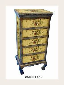 Beautifully hand painted wooden drawer with 5 draws Westmead Parramatta Area Preview