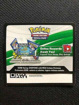 Pokemon Melmetal GX/Meltan SM178/177 Collection Box Online Promo Code