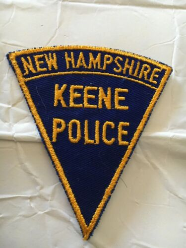 Keene New Hampshire Vintage Police Patch Version 1