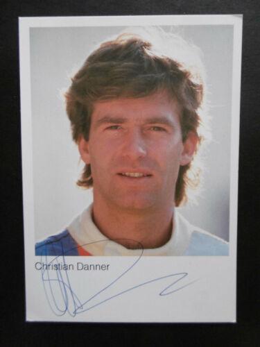 Christian Danner Autogramm signed 10x15 cm Postkarte BMW