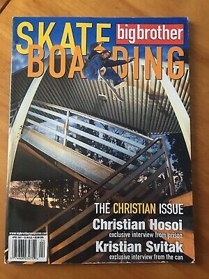 Big Brother Magazine Christian Issue 71 April 2001 Skateboard Hosoi Jackass