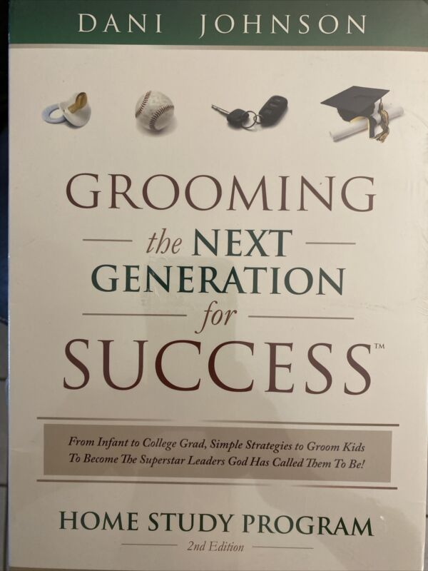 """Dani Johnson 5 CD Set """"Grooming The Next Generation For Success"""" SEALED"""