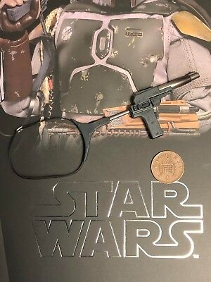 Hot Toys Star Wars ESB Boba Fett DELUXE MMS464 Rifle 2 loose 1/6th scale