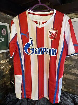 """Crvena Zvezda Football Shirt Puma 19""""P2P Small Home Red Star Belgrade 2013/14 image"""