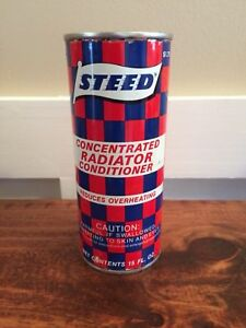 Vintage oil can. Steed rad conditioner