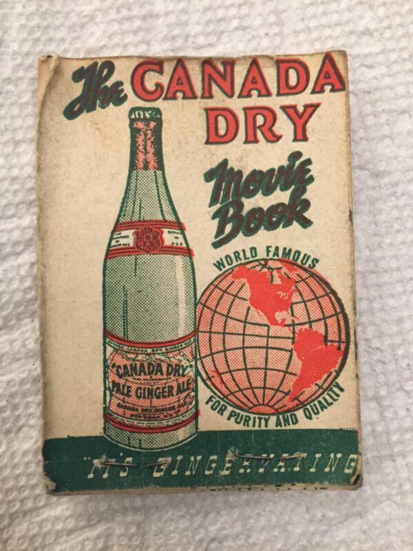 Canada Dry Movie Book 1930