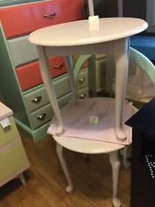 Blush side table set-1 available