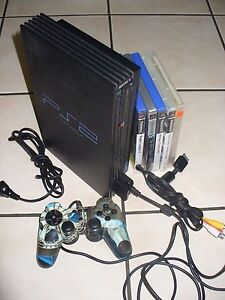 PLAYSTATION 2 WITH GAMES Coombabah Gold Coast North Preview