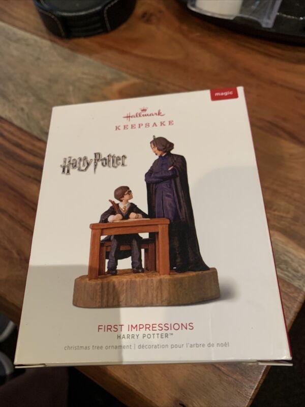 Hallmark 2018 Keepsake Ornament Harry Potter First  Impressions  NIB