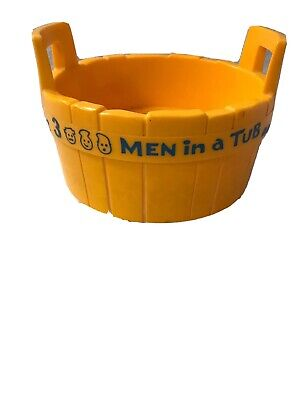 Fisher Price Rub A Dub Dub 3 Men in a Tub Replacement Bath or Pool Toy Vintage